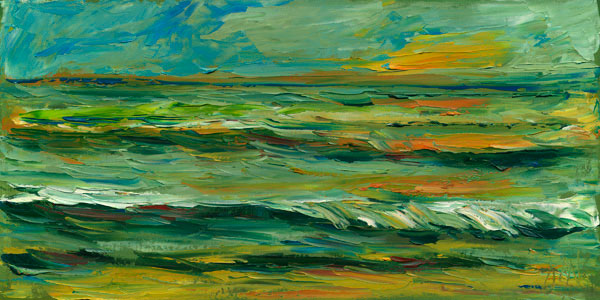 Gulf of Mexico Ocean Painting