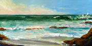 Winter Surf 2 Oil Painting