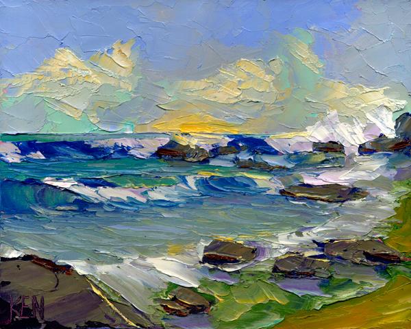 West Coast Original Oil Painting