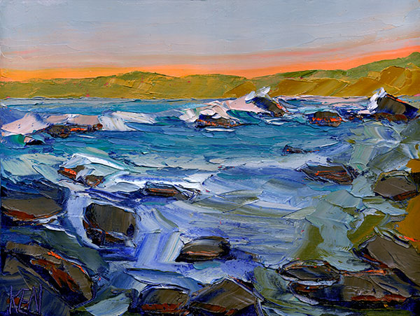 shelter cove painting