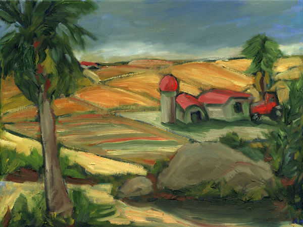Farm Hills California Landscape Painting