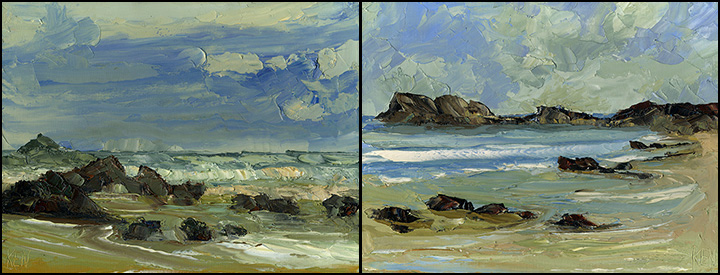 oregon coast paintings