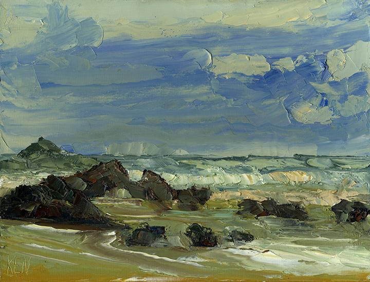 oregon coast painting