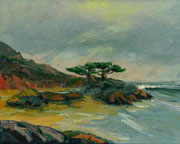 Monterey Oil Painting
