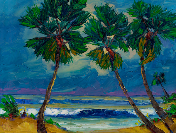 atlantic palms painting