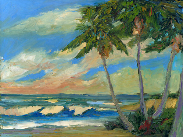 PACIFIC MEXICO Seascape Oil Painting