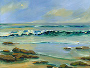 ocean seascape oil painting