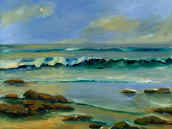 The Ocean Seascape Oil painting