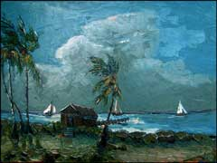 florida highwaymen style painting