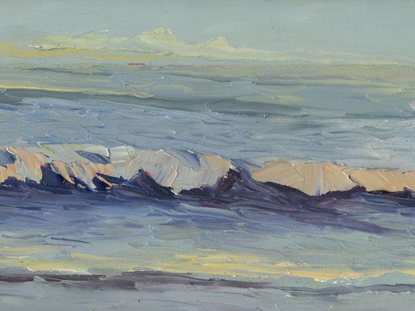 Pacific Ocean Art Painting