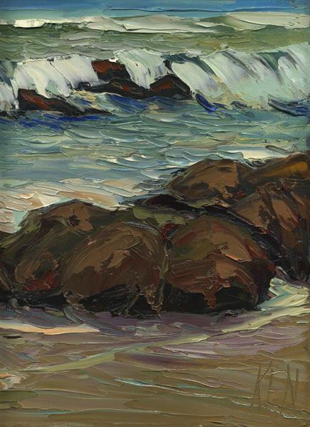 ventura seascape painting