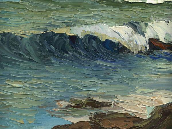 port hueneme oil seascape painting