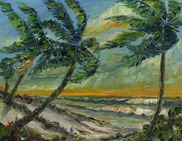 florida highwaymen style ocean breeze