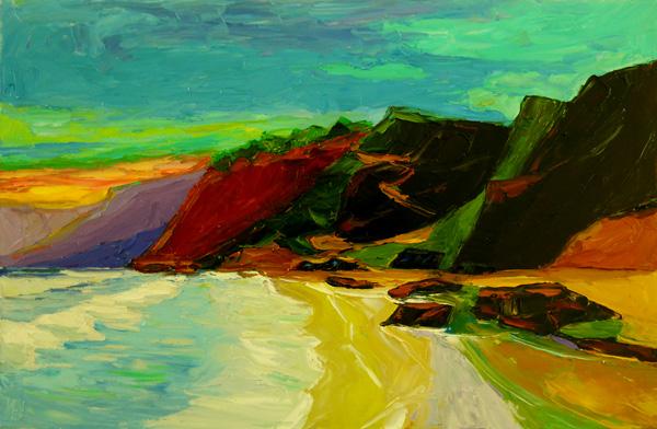 Ocean Oil Painting Ken