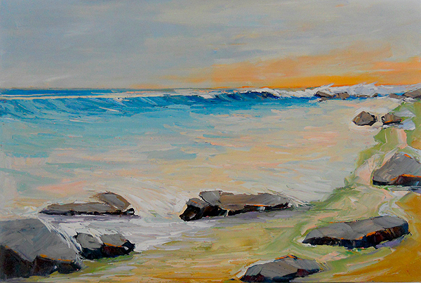 Ocean Seascape Painting