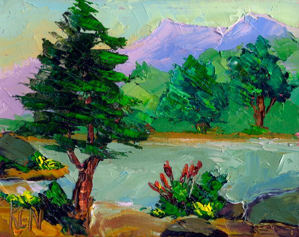 california impression painting