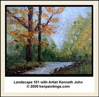 landscape oil painting dvd 101