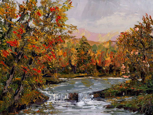 Landscape 102 Art Oil Painting Video DVD