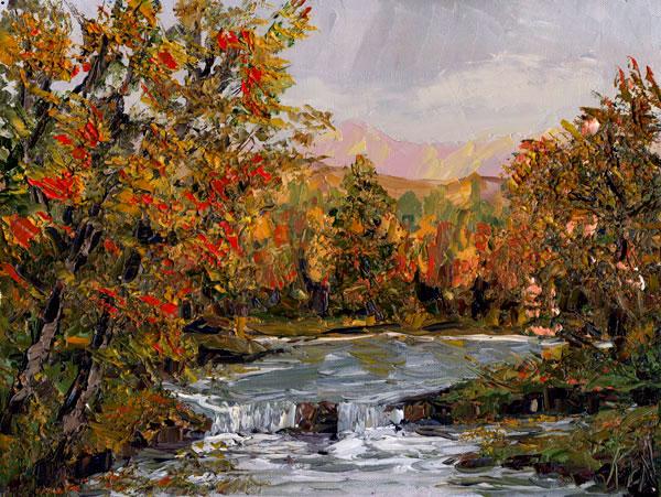 Landscape 102 Art Oil Painting Video DVD