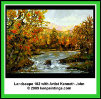 Landscape 102 Art Instruction Video DVD