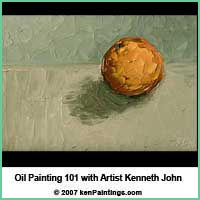 oil painting 101 dvd with palette knives