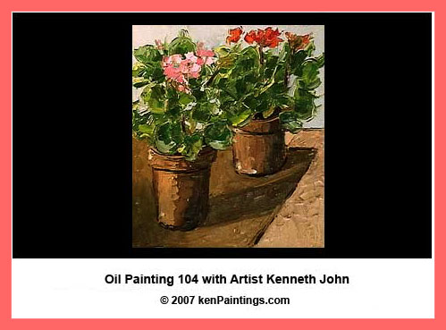 oil painting 104 dvd video