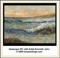 seascape 101 oil painting training dvd