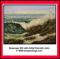 seascape 203 oil painting dvd