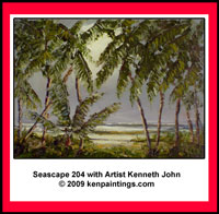 seascape palms 204 art dvd