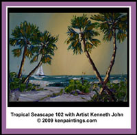 tropical seascape 102 video dvd