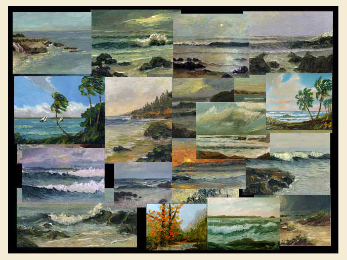 kenneth john seascapes