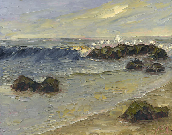 seascapes oil paintings 101