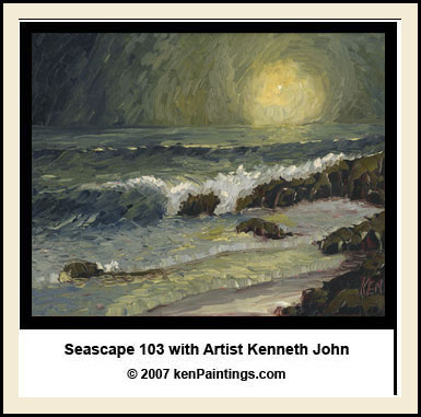 seascape oil painting dvd