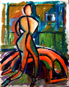 female abstract expression