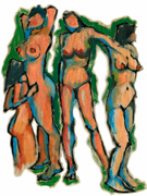 german expressioist painting figures