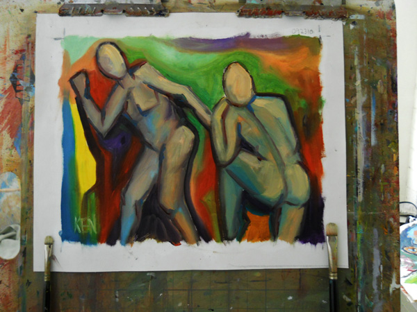 fauvism art canvas