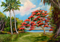 Royal Poinciana florida