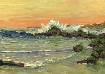 laguna beach california ca print