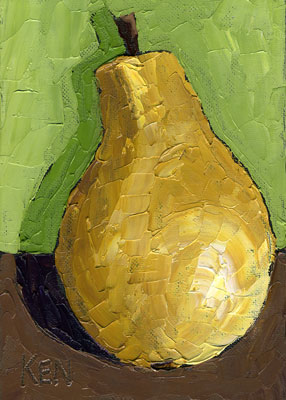ONe PEar Still Life 01