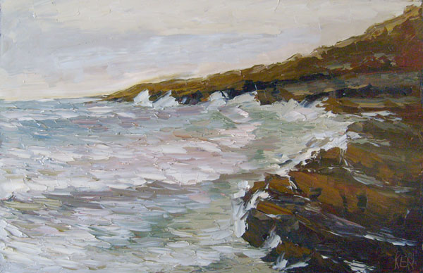 point loma plein aire painting