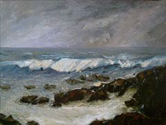 stormy pacific ocean paintings