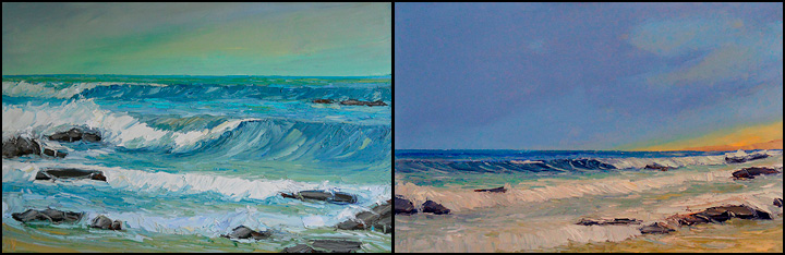 large seascape paintings