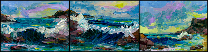 pacific waves painting