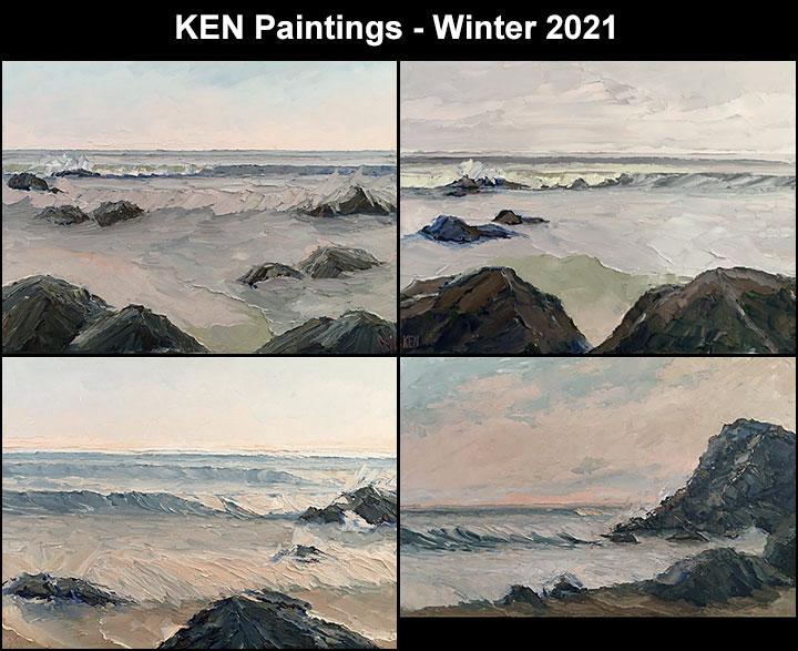 ken seascape oil paintings