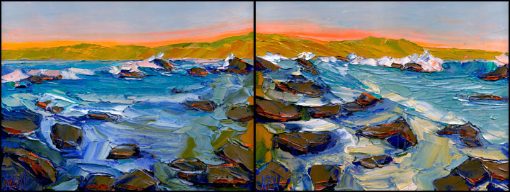 shelter cove paintings