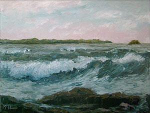 seascape wave breakers