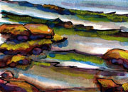 Rocks Watercolor
