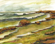 Seascape Watercolors