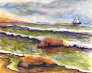 Seascapes Water Color