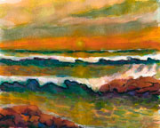 Seascape Water Colors